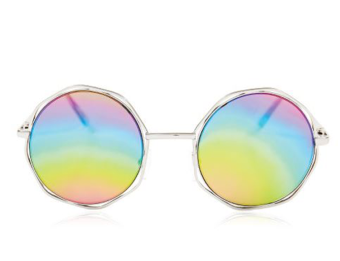 Skinny Dip Willow Rainbow Hex Sunglasses  £25.00