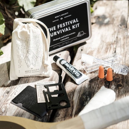Men's Society Festival Survival Kit  £25