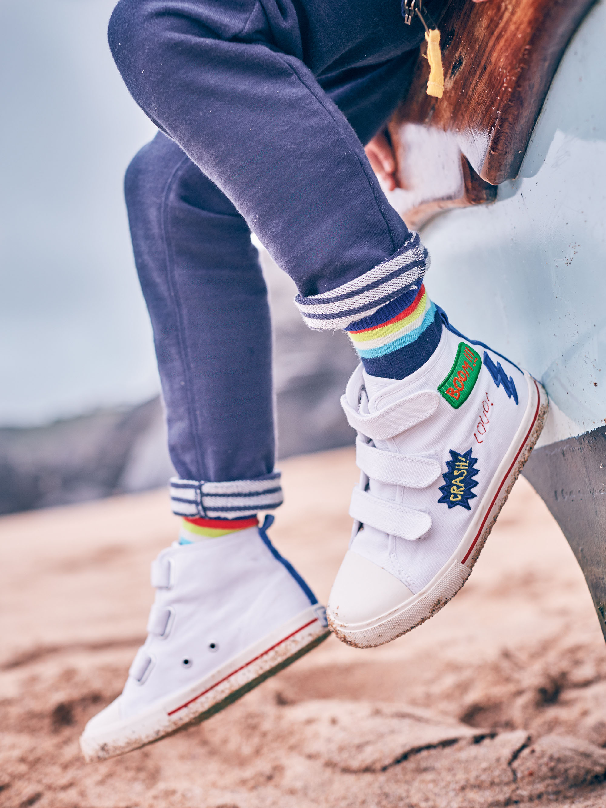 Canvas High Tops £35 at Boden
