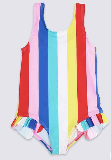 Striped Swimsuit £7 - £9