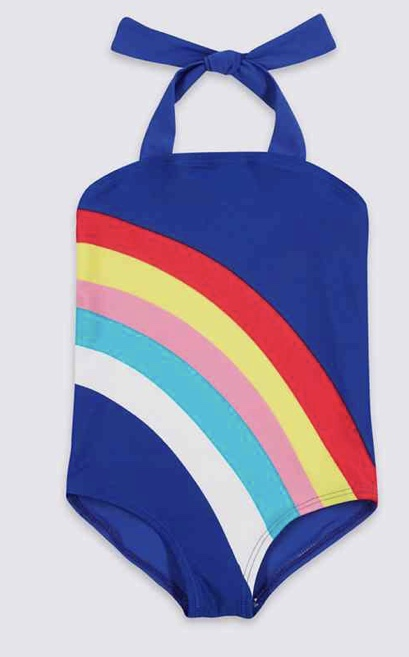 Rainbow Striped Swimsuit £9 - £11