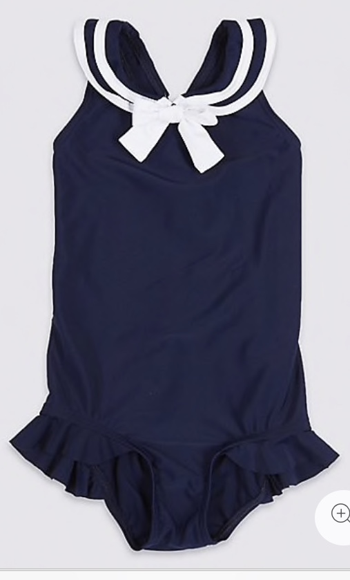 Sailor Bow Swimsuit £10 - £14