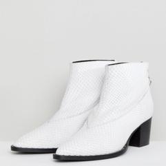 Snakeskin Cowboy Boots, £299, Gestuz at ASOS.com.png