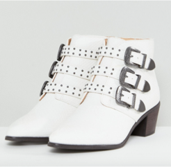 PRODUCT SHOT Multi Buckle Heeled Western Boots, £45, Miss Selfridge at ASOS.com.png