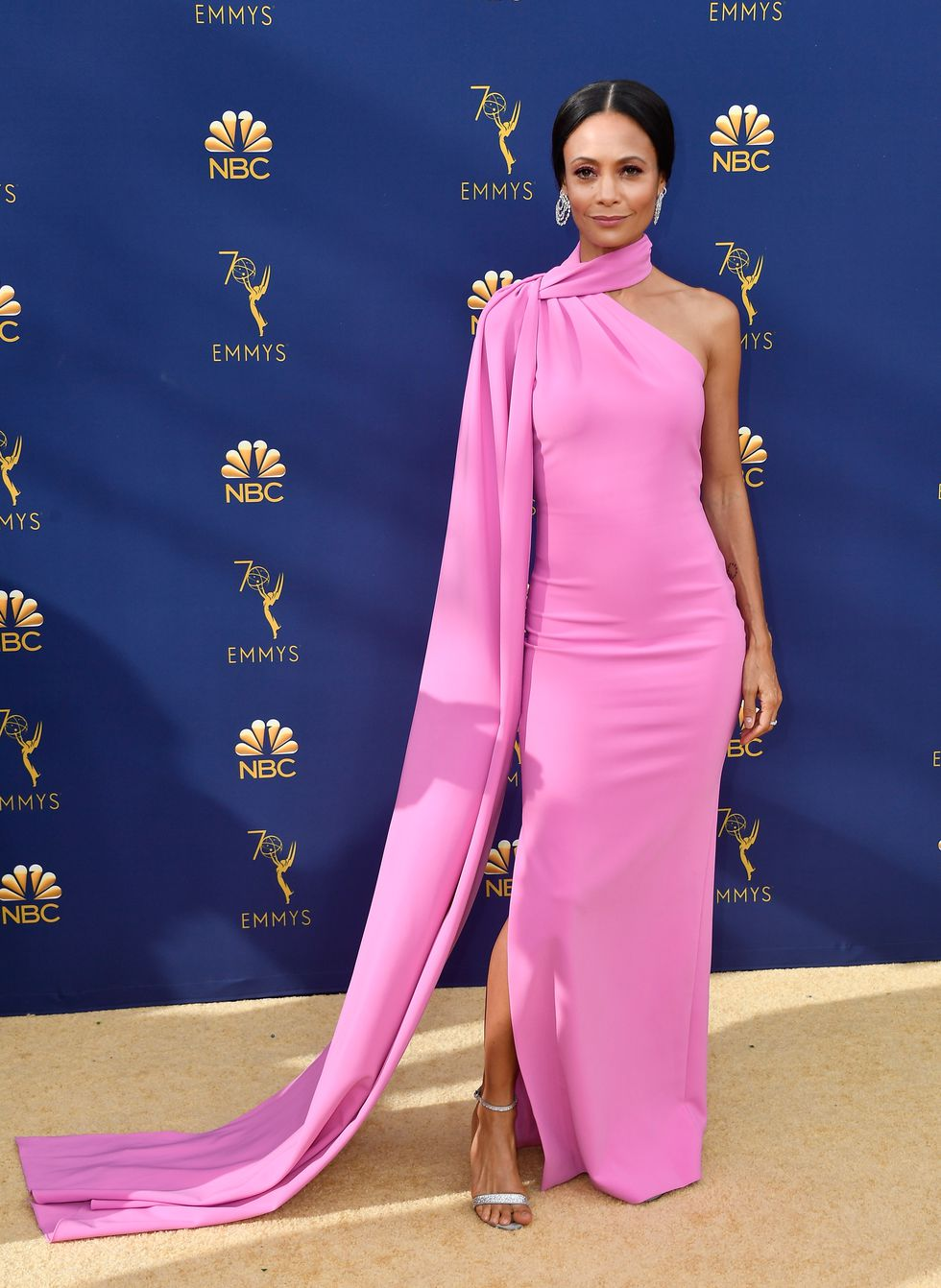 Thandie Newton in Brandon Maxwell