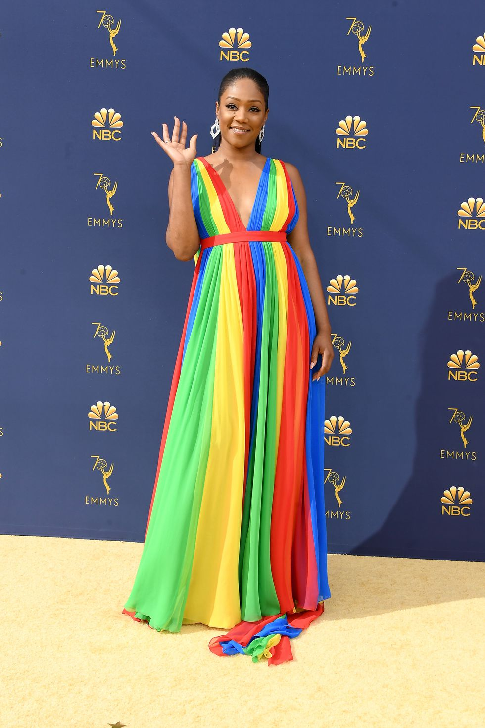 Tiffany Haddish in Prabal Gurung