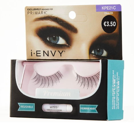 I-ENVY BY KISS DIVA (€3.50)  This captivating style is ideal for nights on the town, special events or for when the occasion calls for a transformation, go bold, be dramatic and unleash your inner diva with this collection of statement lashes.