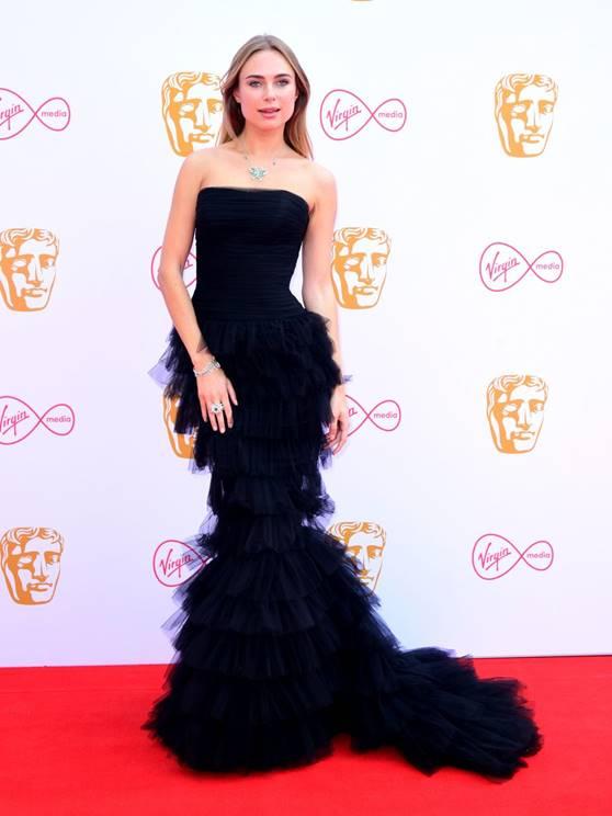 Kimberley Garner in Kristensen Couture