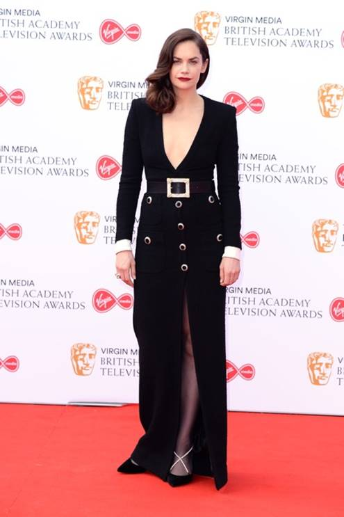Ruth Wilson in Alessandra Rich