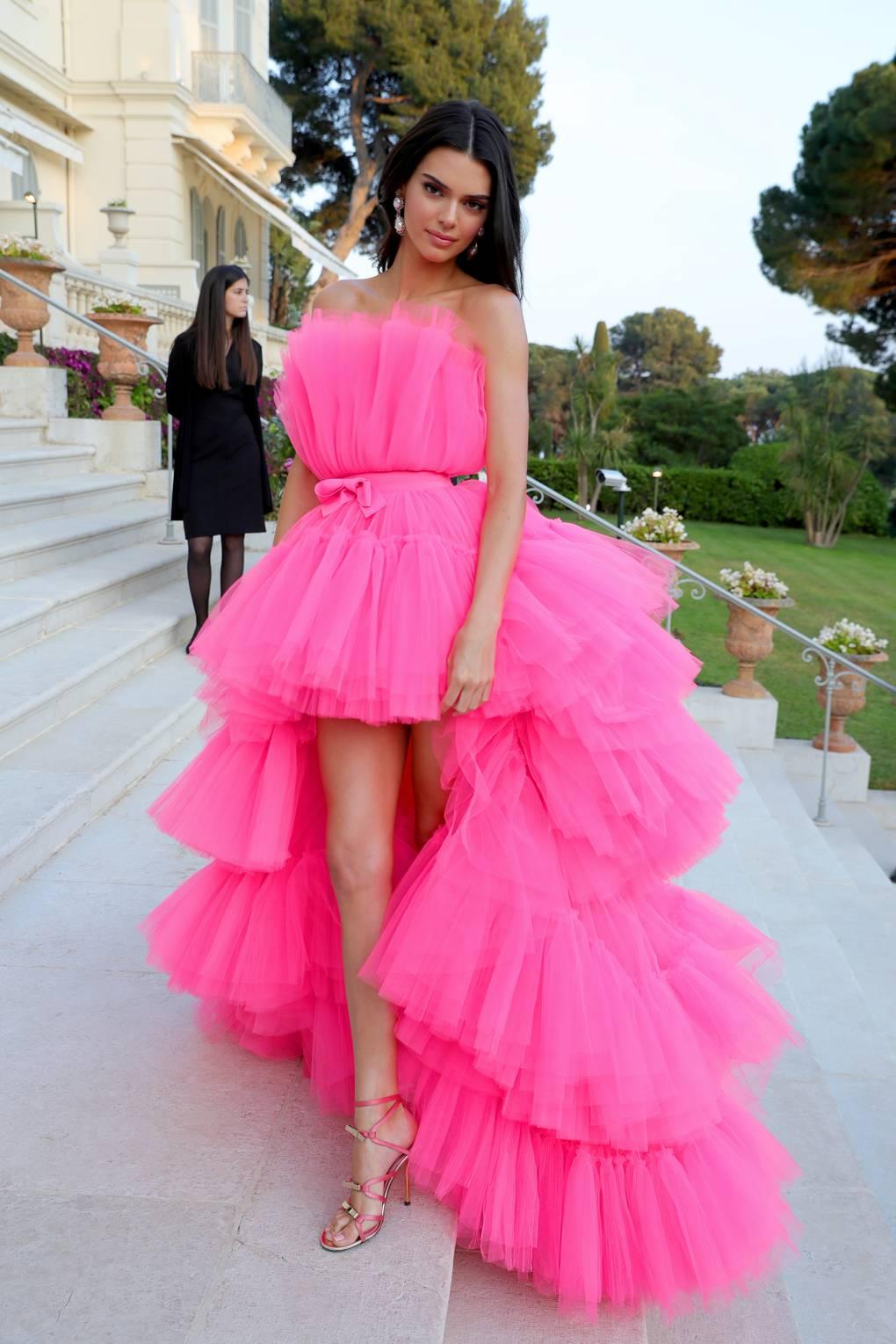 Cannes - Kendall Jenner in Giambattista Valli x H&M.jpg