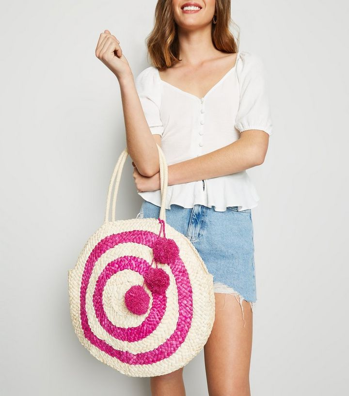 NEW LOOK POM POM BAG £25.99 (ALSO COMES IN YELLOW)