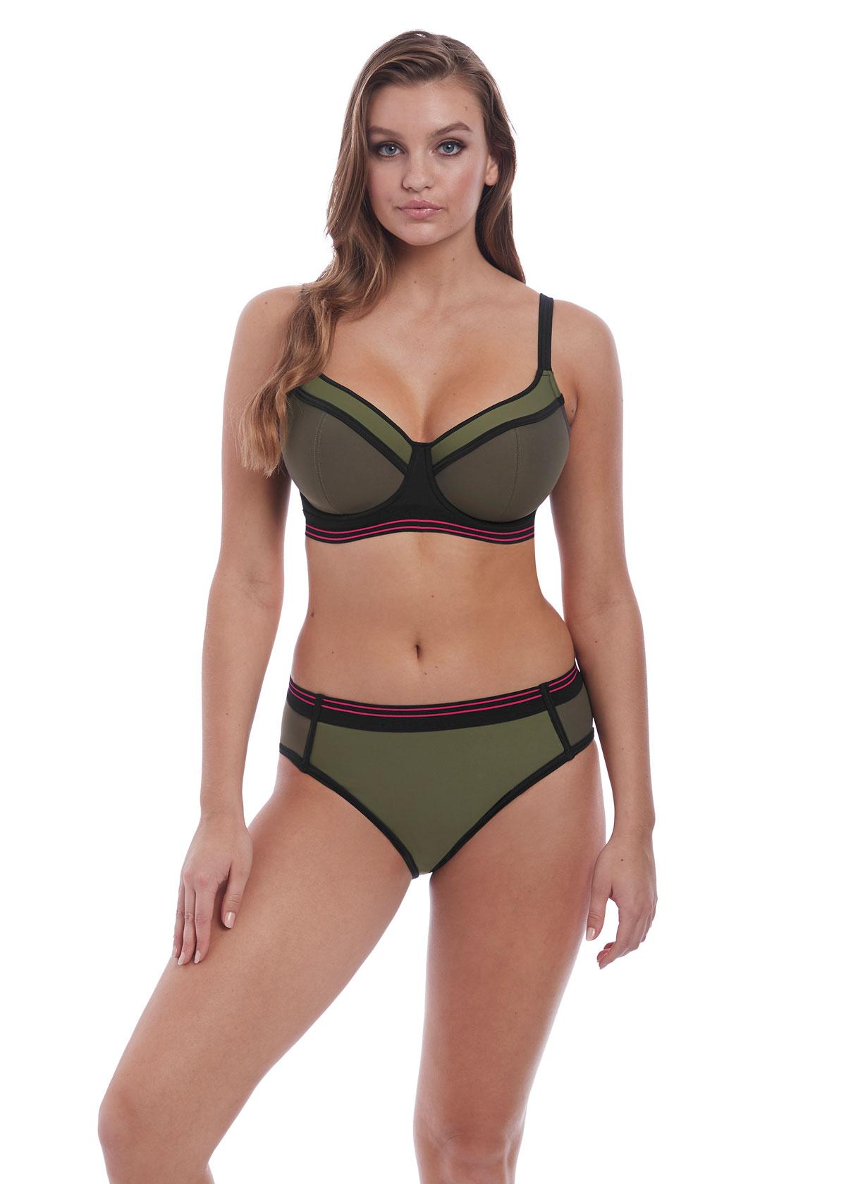 Freya Club Envy Khaki Bikini -£60