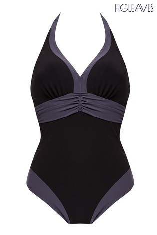 Figleaves Edge Colourblock shaping swimsuit -£60