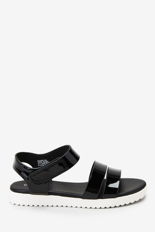 Next older girls black sandals £17-£20.