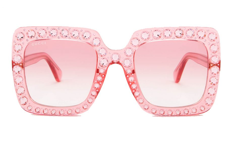 Gucci Large Square Frame sunglasses -£544.