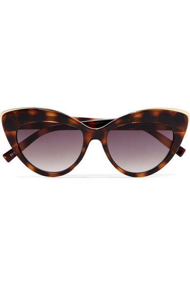 Le Specs Beautiful Stranger cat eye tortoiseshell -£45