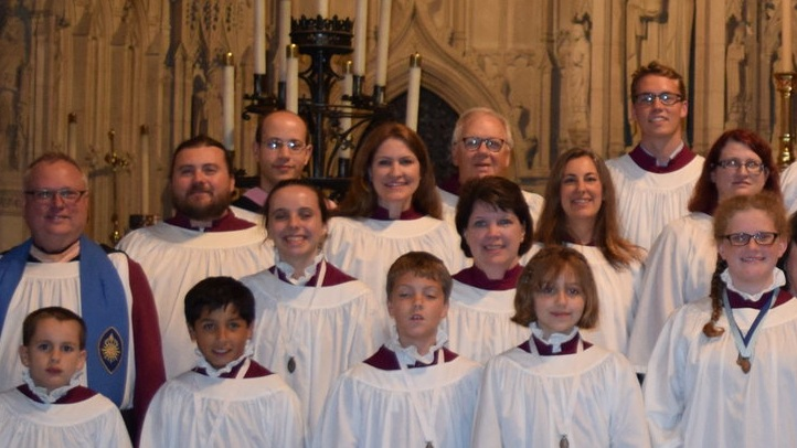 Eastertide Evensong  Sunday, May 3, 2020, at 6 p.m.  All the Cathedral's choirs combine for a very special Anglican service, singing music for their upcoming residency at Durham Cathedral, UK.