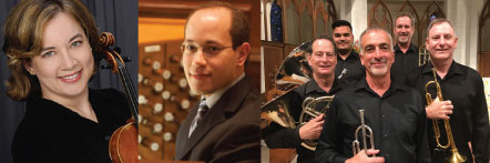 Light 'n' Lively Matinée  Sunday, October 20, 2019, at 2 p.m.  Come celebrate our patron saint on St. Luke's Day with a delightful concert by the Orlando Brass Quintet, violinist Lisa Ferrigno, and organist Michael Petrosh.