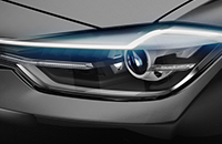 V45 Headlight - Automotive Design