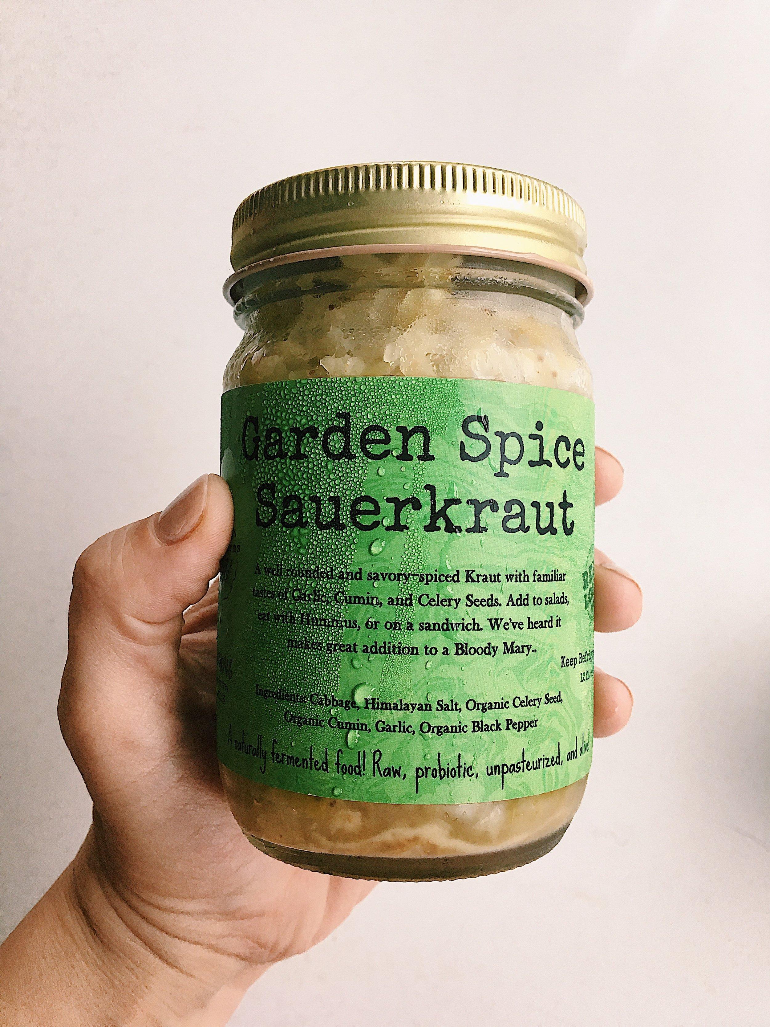 Wild Earth Farms Garden Spice Sauerkraut
