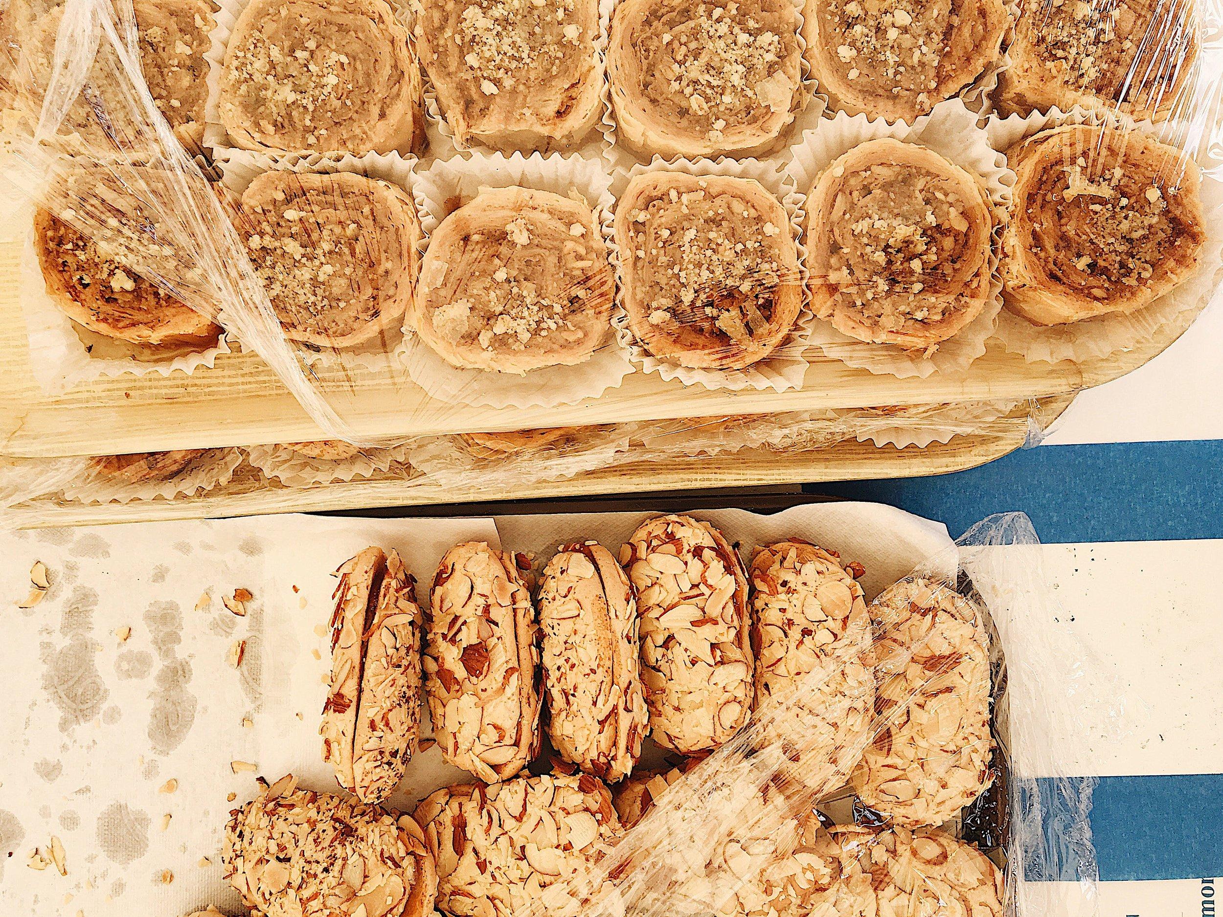 Greek sweets, photo by Stephanie Ganz