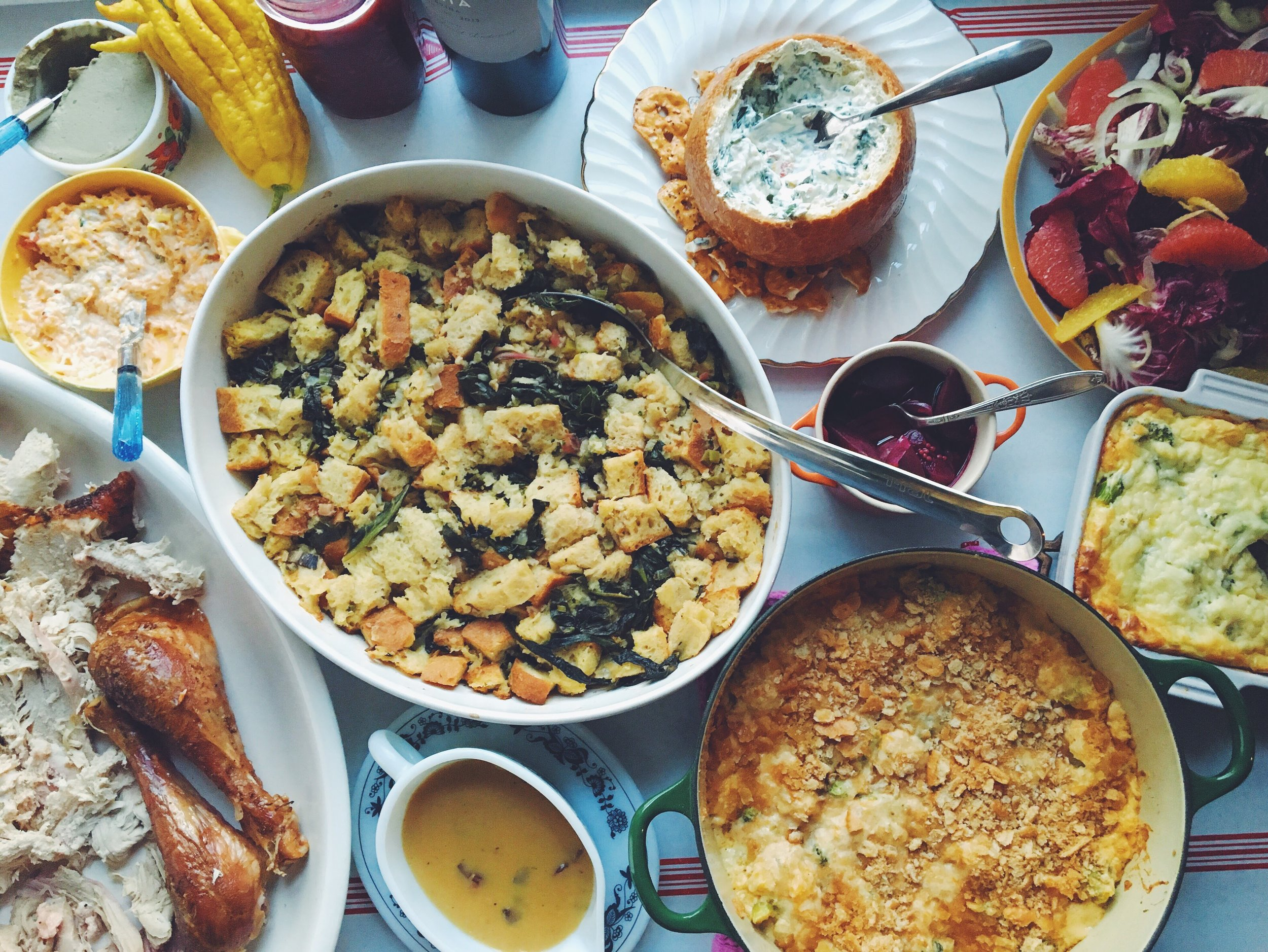 Remember the year I made more bread pudding than turkey? GOOD TIMES.