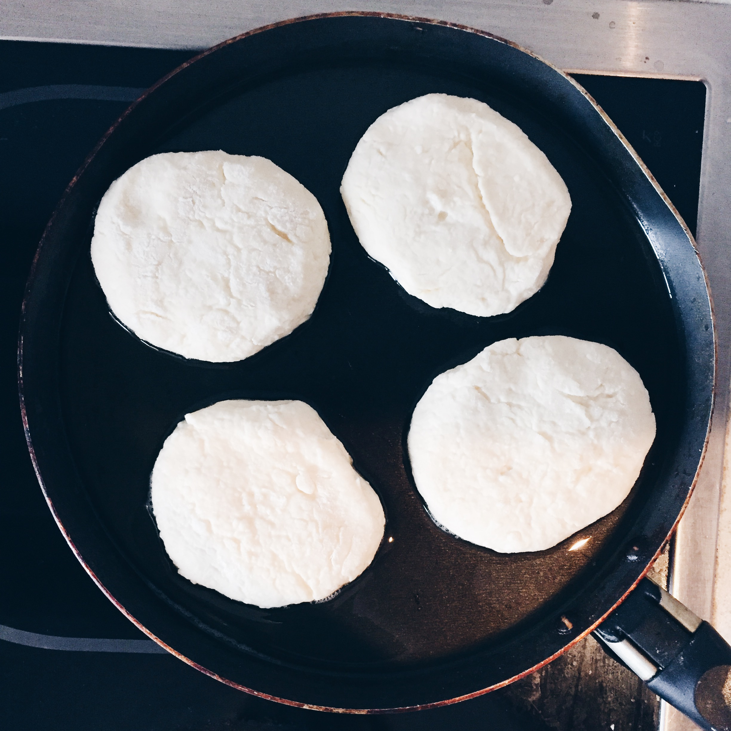 Don't overcrowd the pan.