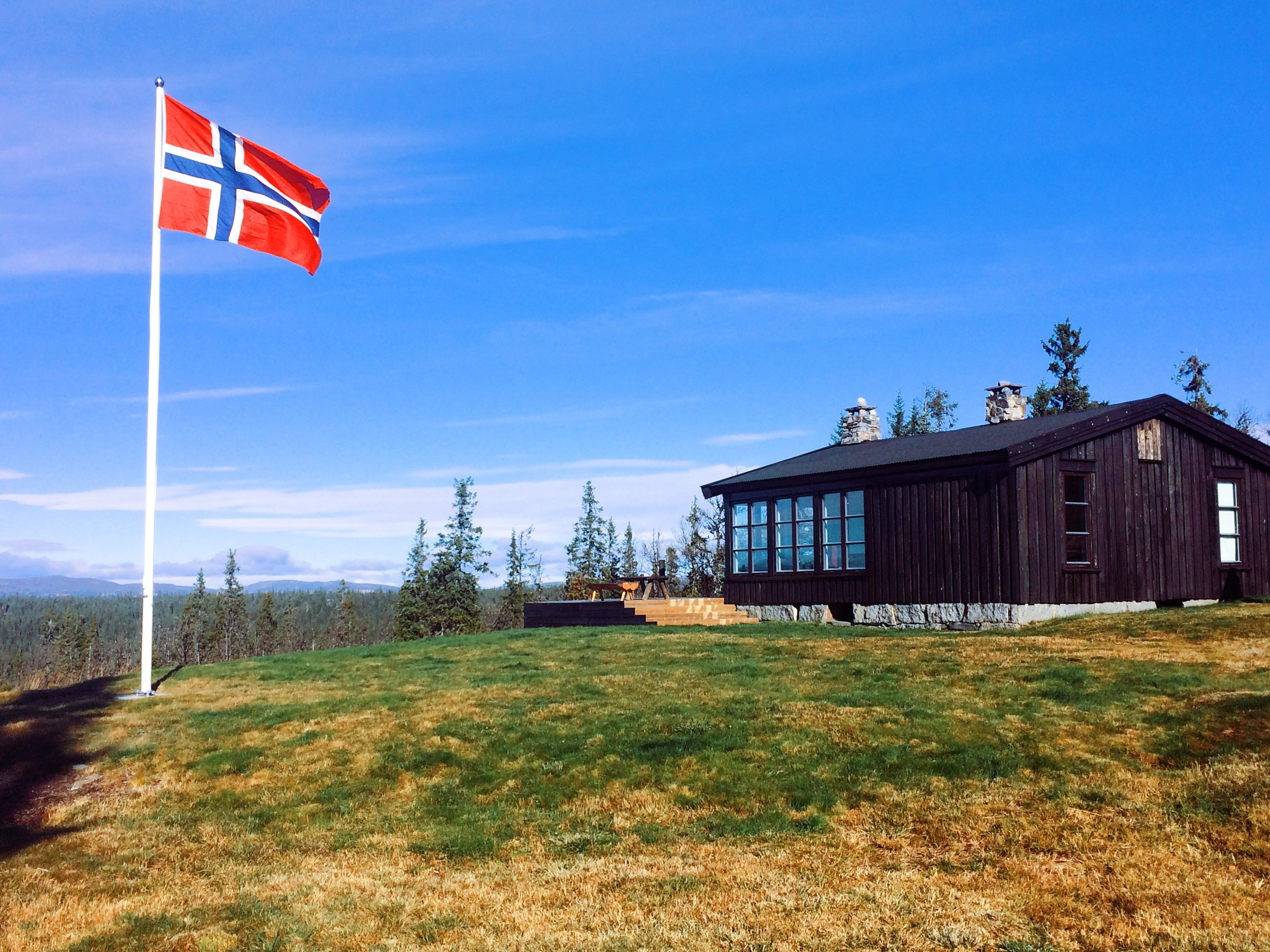 """Our """"hytte"""" (in the summer), where we'll be staying and where we have spent countless Easters surrounded by family."""
