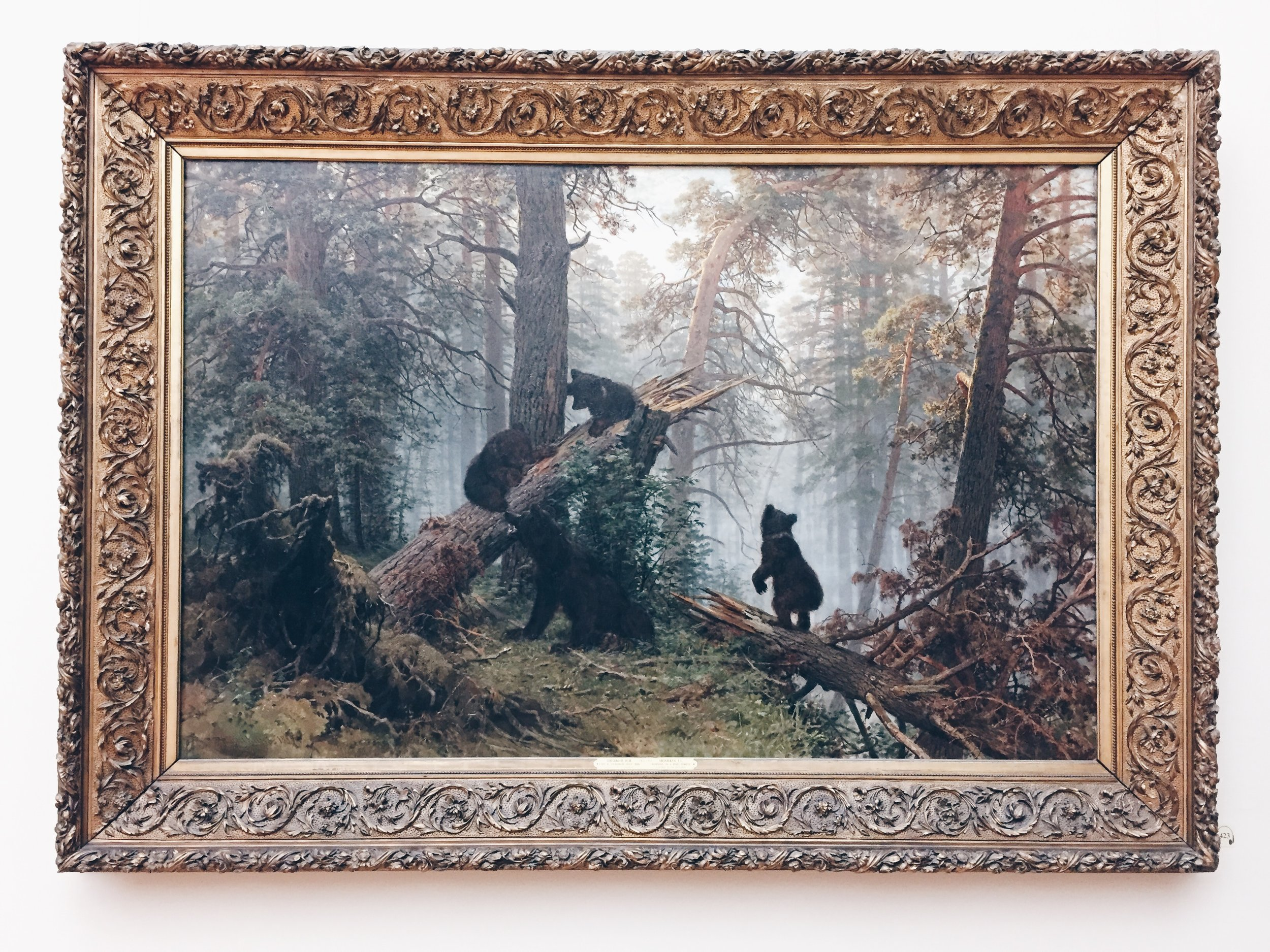 Morning in a Pine Forest - Ivan Shishkin & Konstantin Savitsky