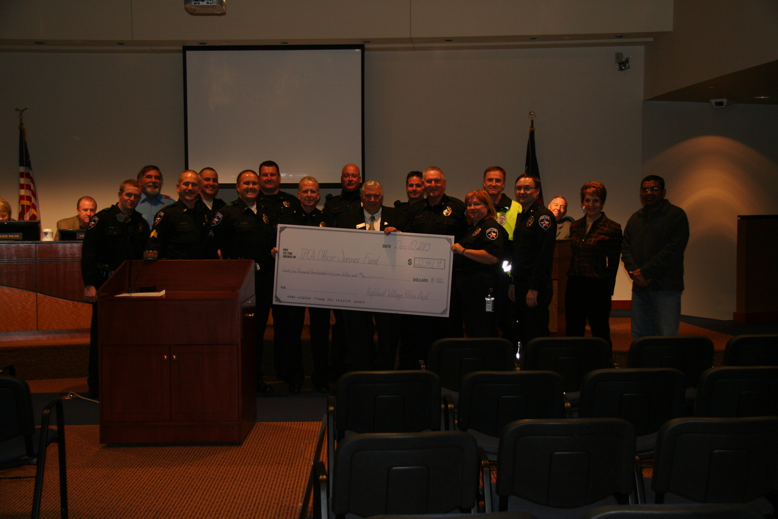 2013 Gears and Grub, donated by Highland Village PD