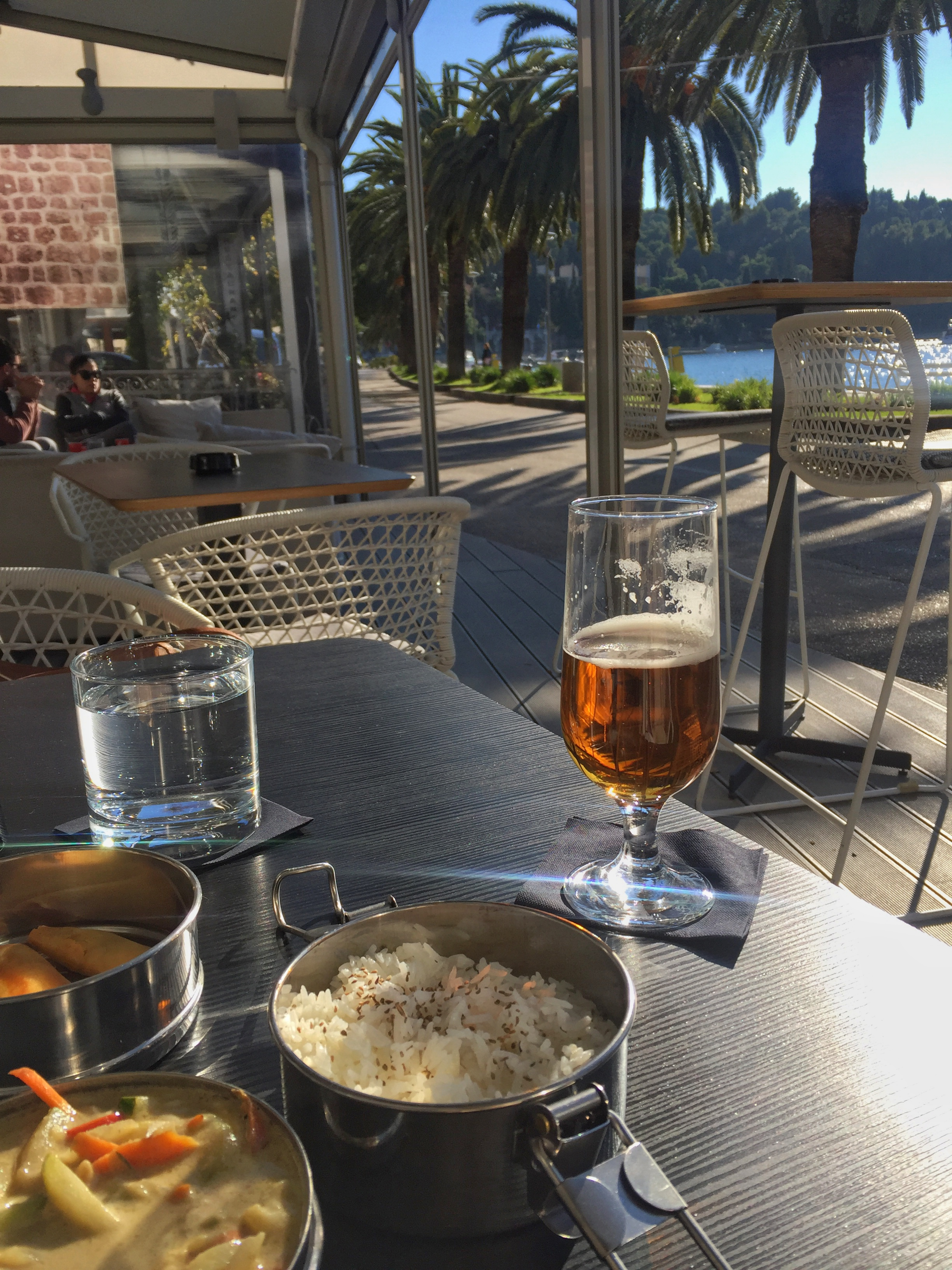 delicious Thai curry lunch at Kamen Mali