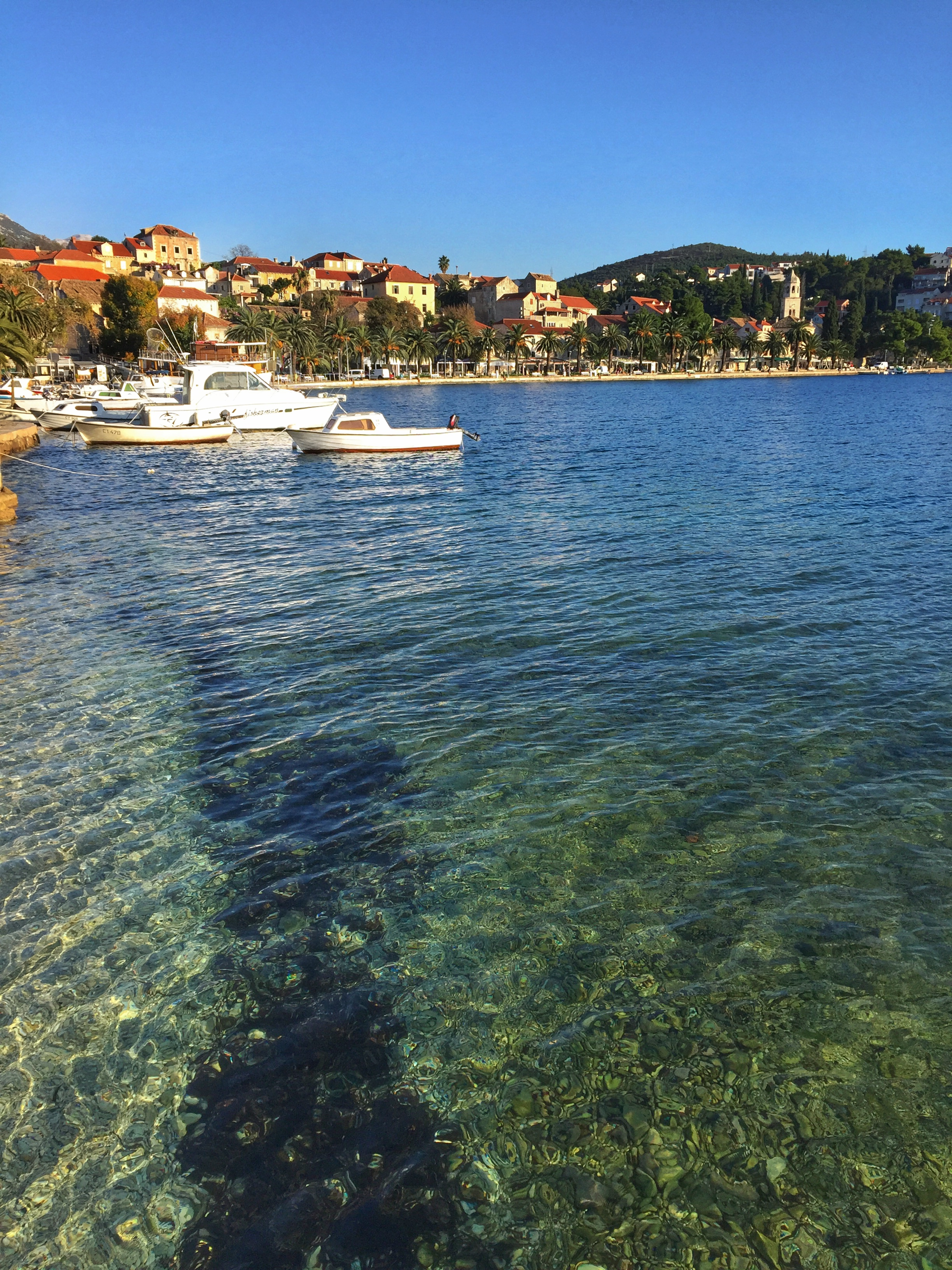 more gorgeous, clear water