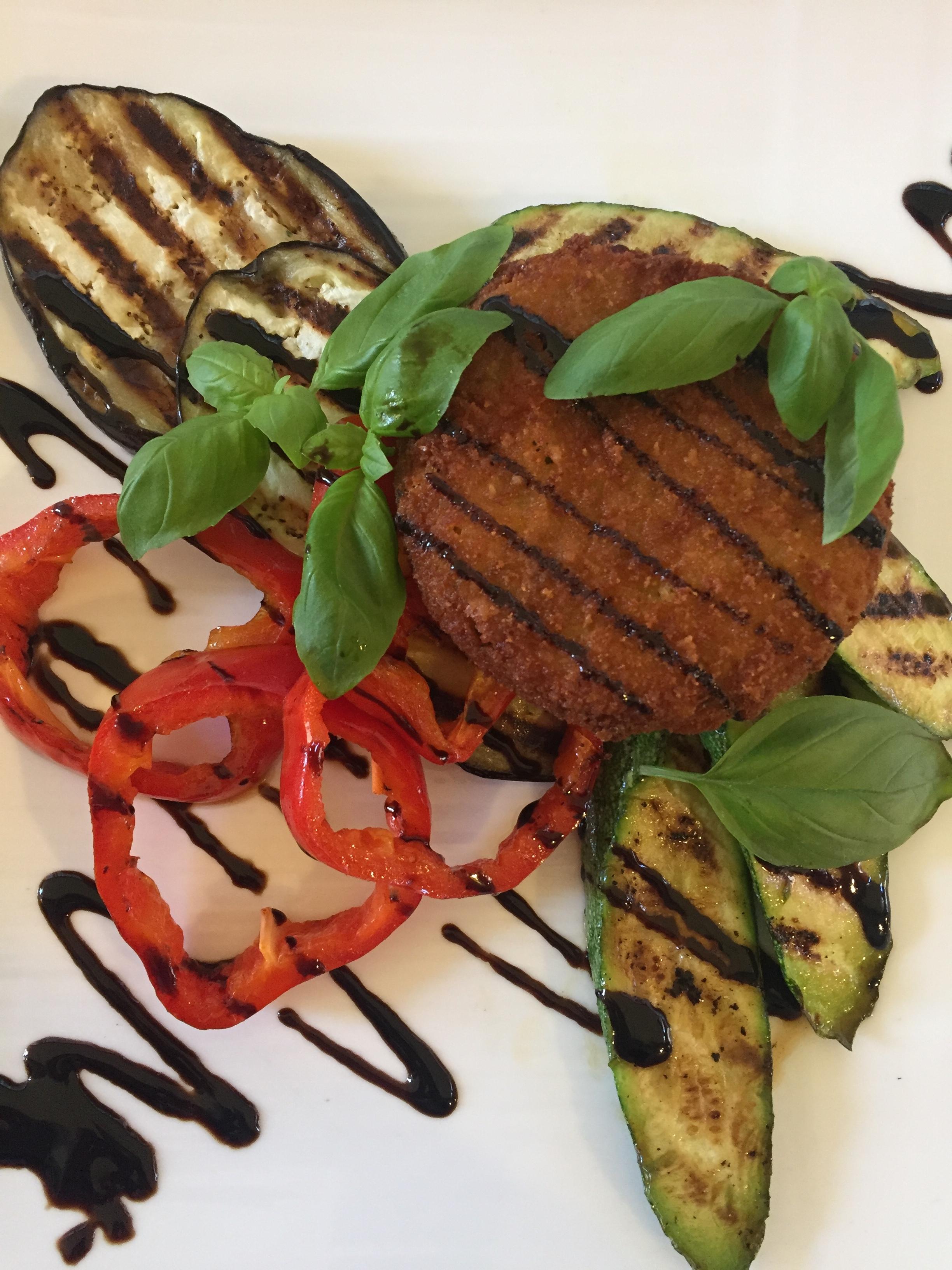 veggie plate at Absolute Wine & Food (Dubrovnik)
