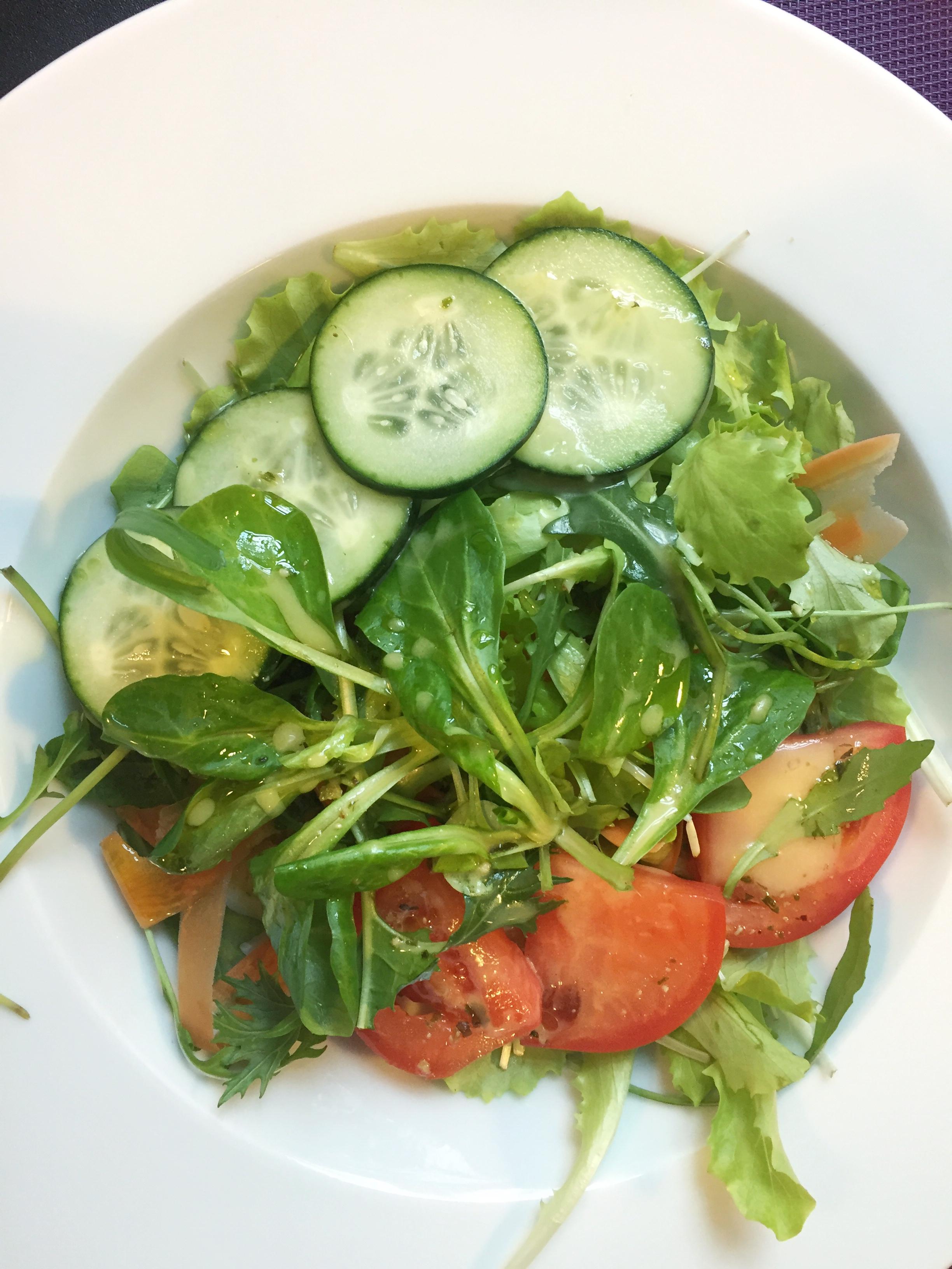 mixed rocket salad at Hotel Amfiteatar (Pula)
