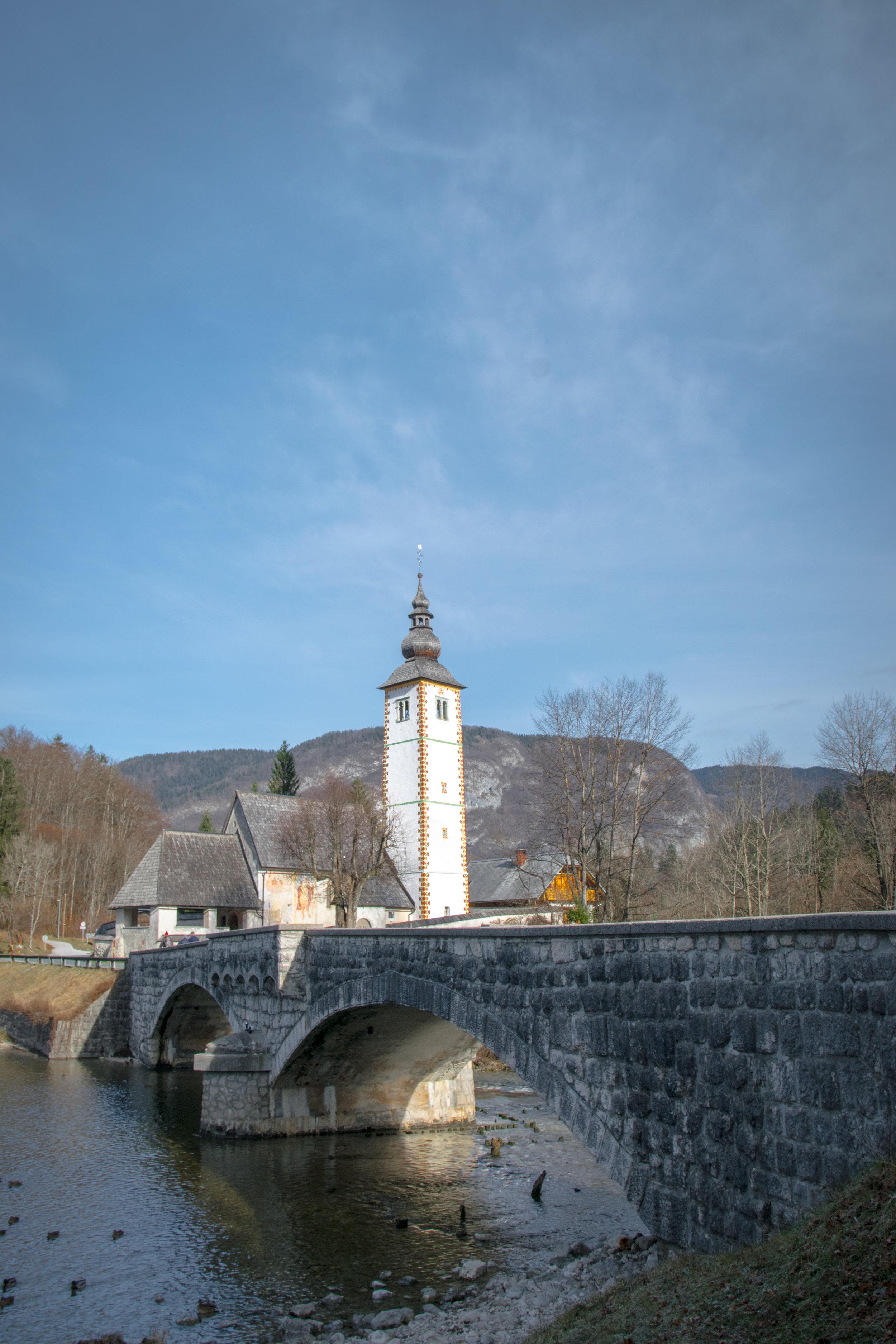 Ribčev Laz, Church of St. John the Baptist