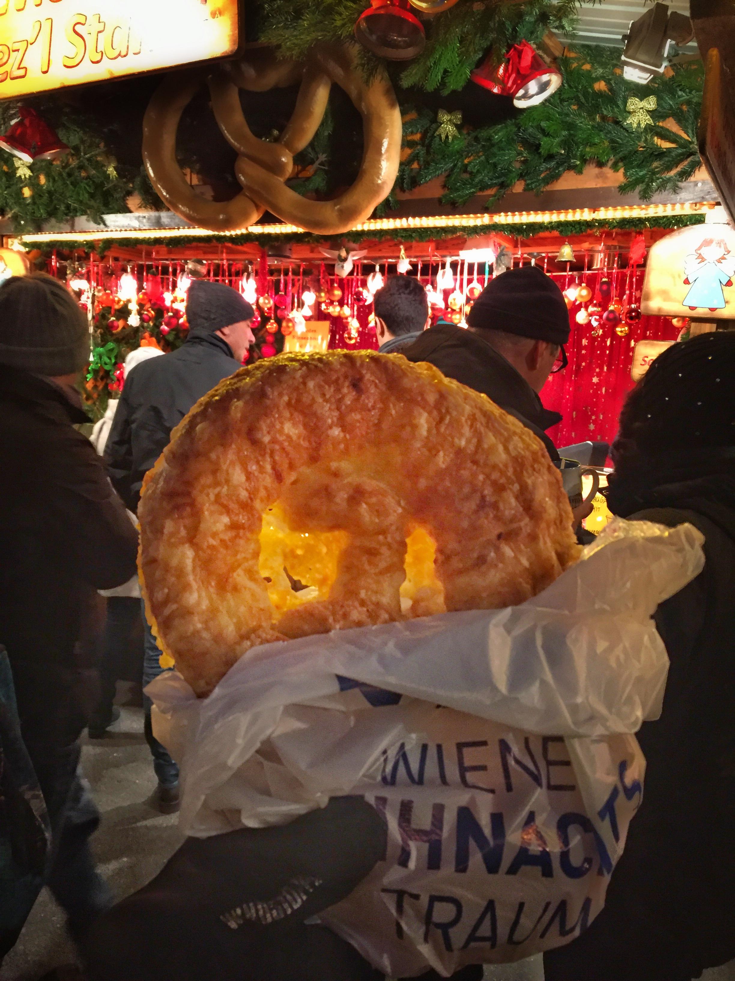 cheese pizza pretzel