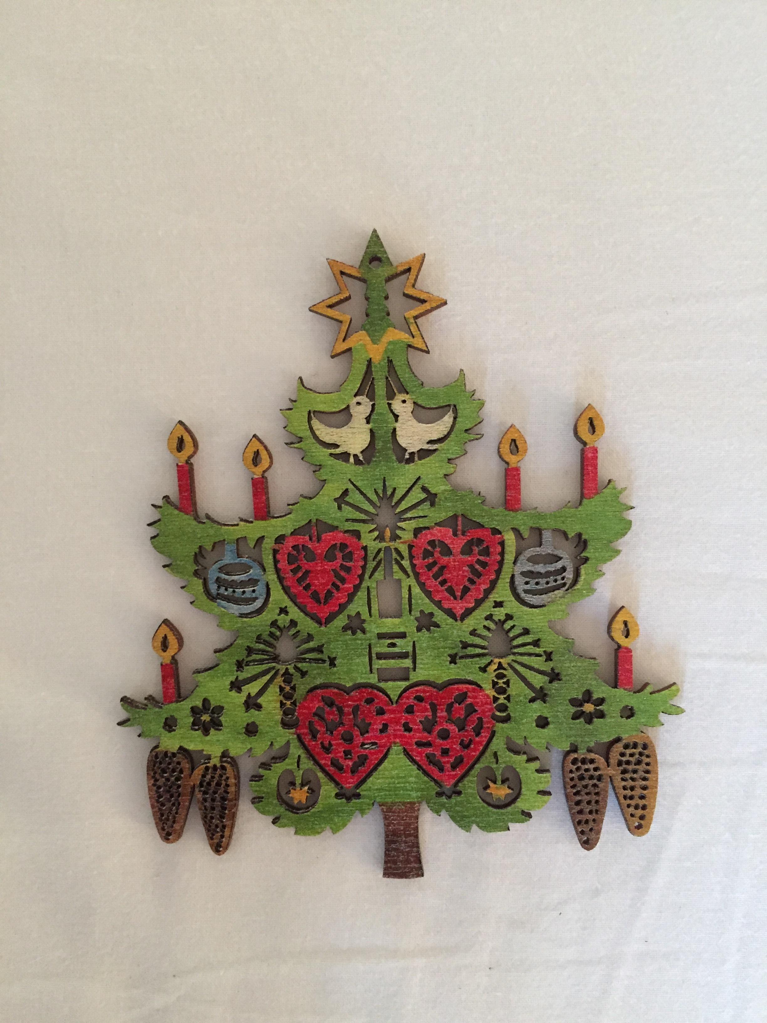 wood ornament (Prague, Czech Republic)
