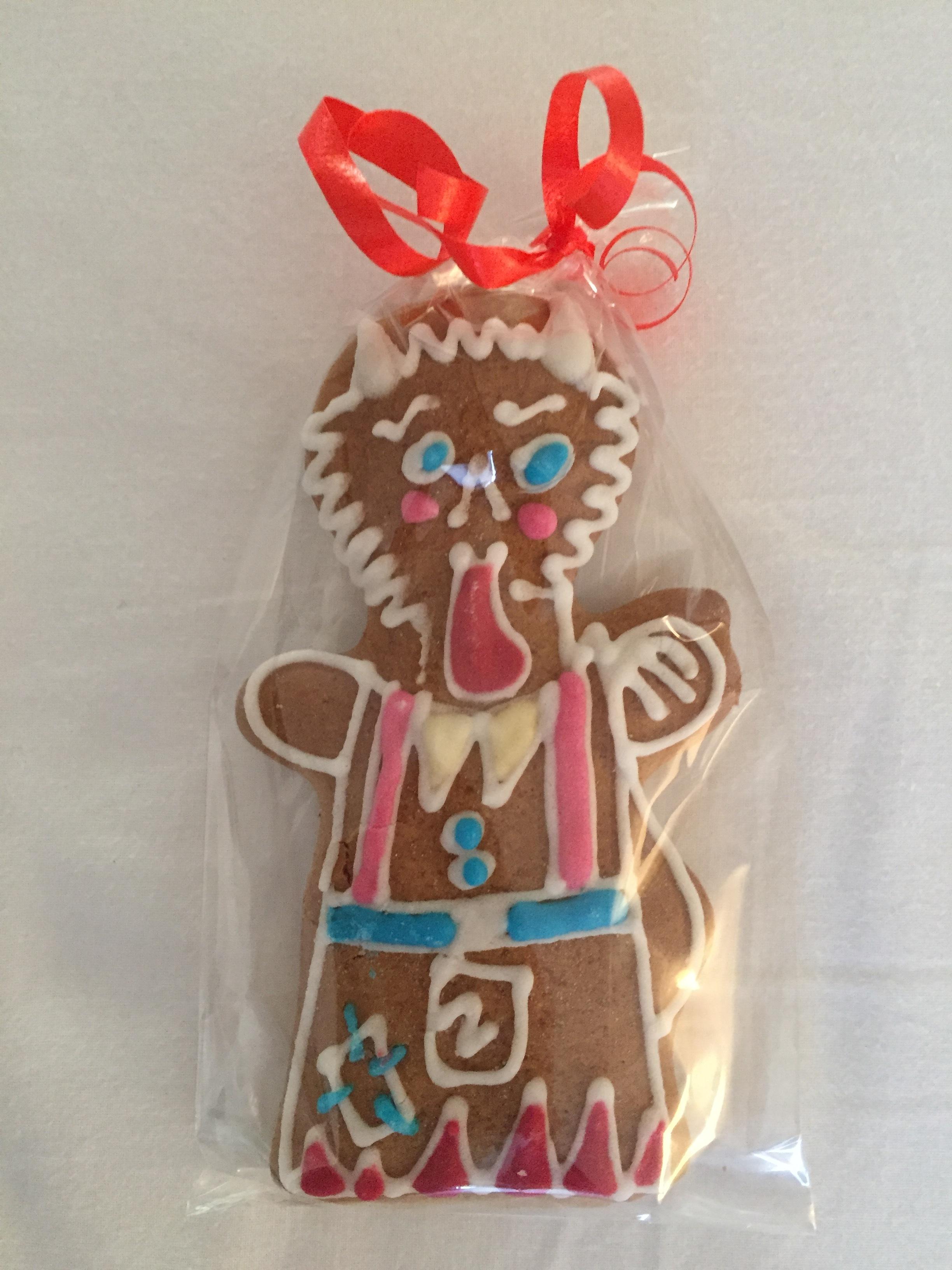 gingerbread devil (Prague, Czech Republic)