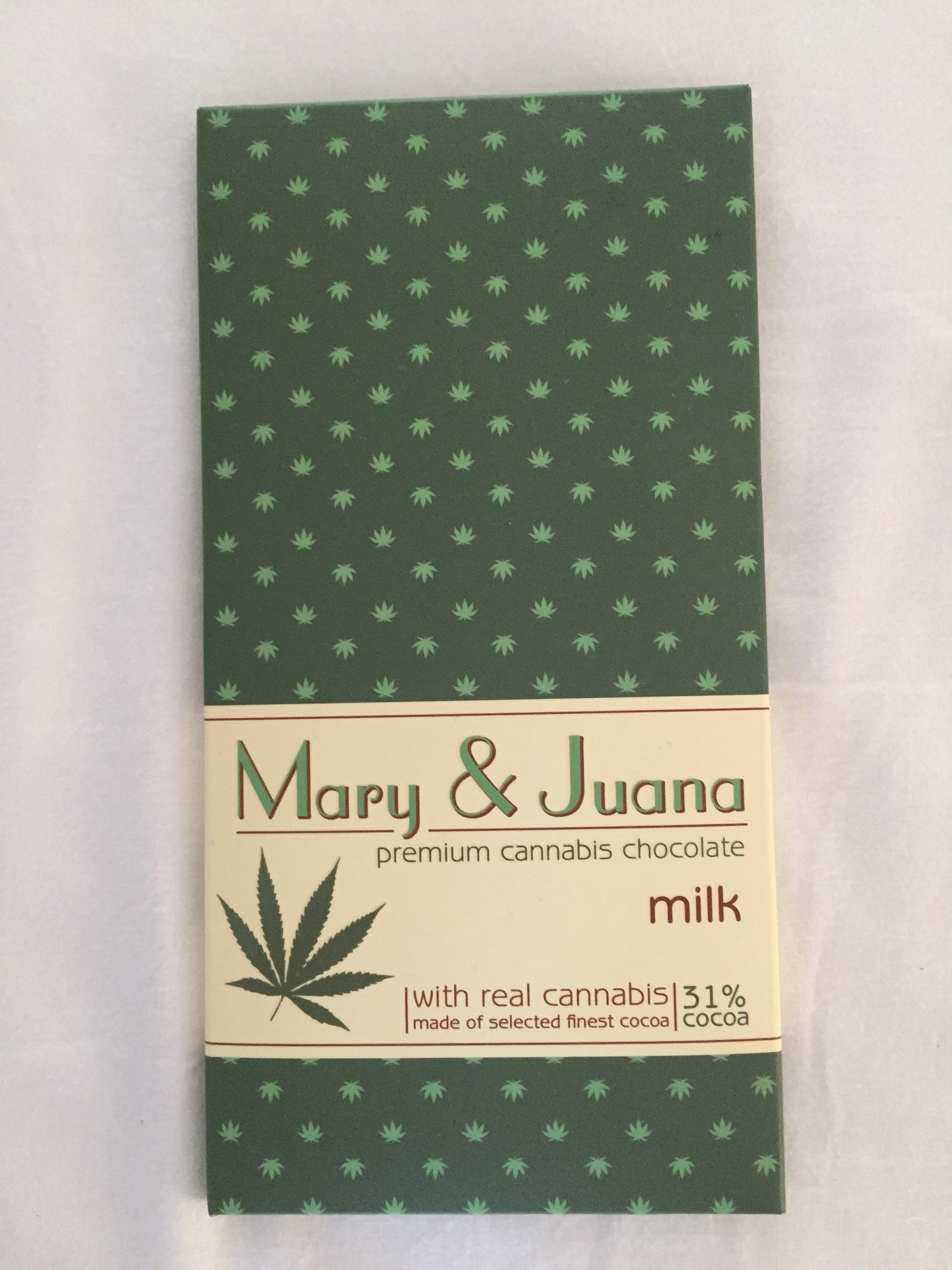 cannabis chocolate (Prague, Czech Republic)