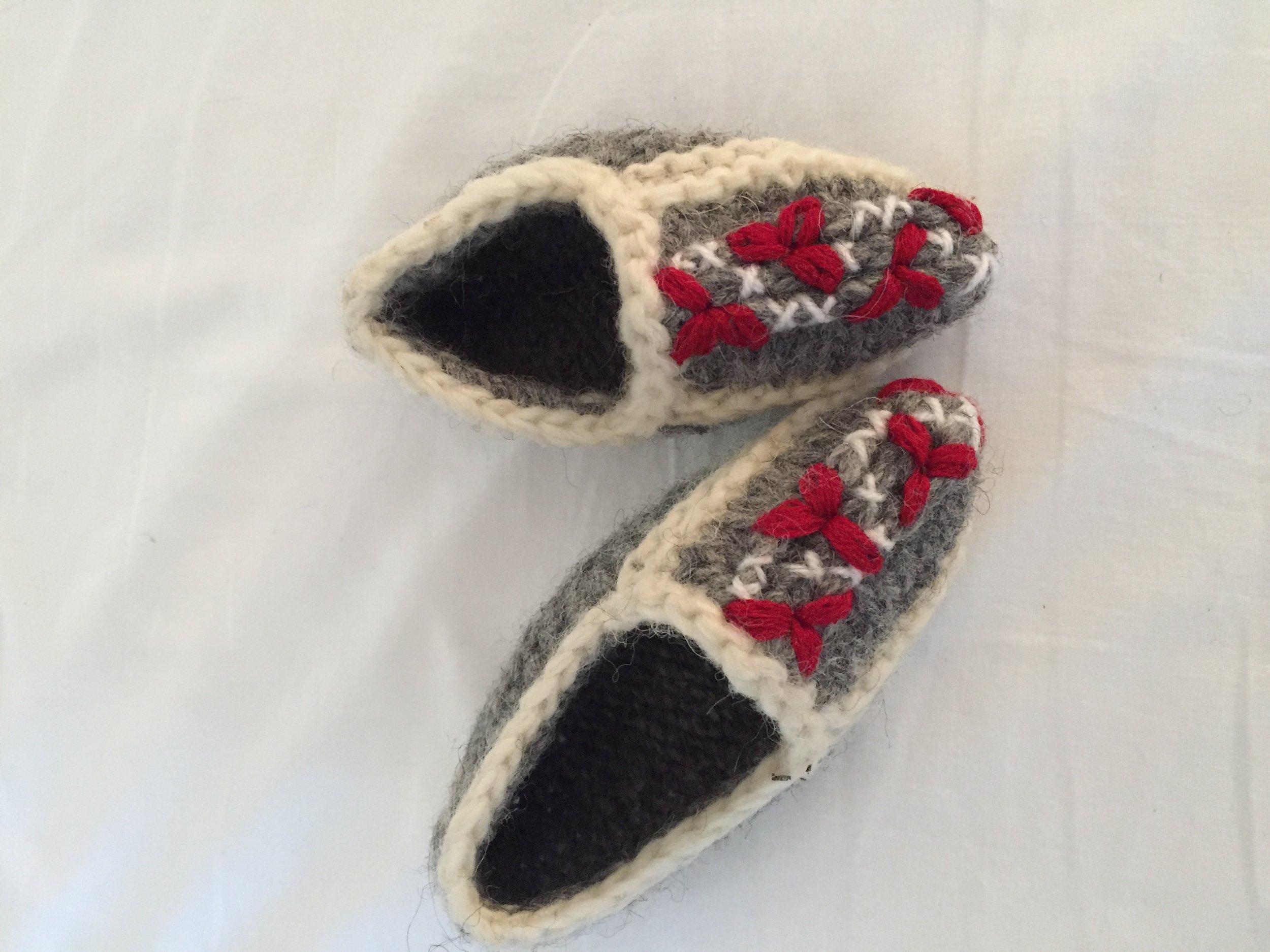 wool slippers (Kotor, Montenegro)