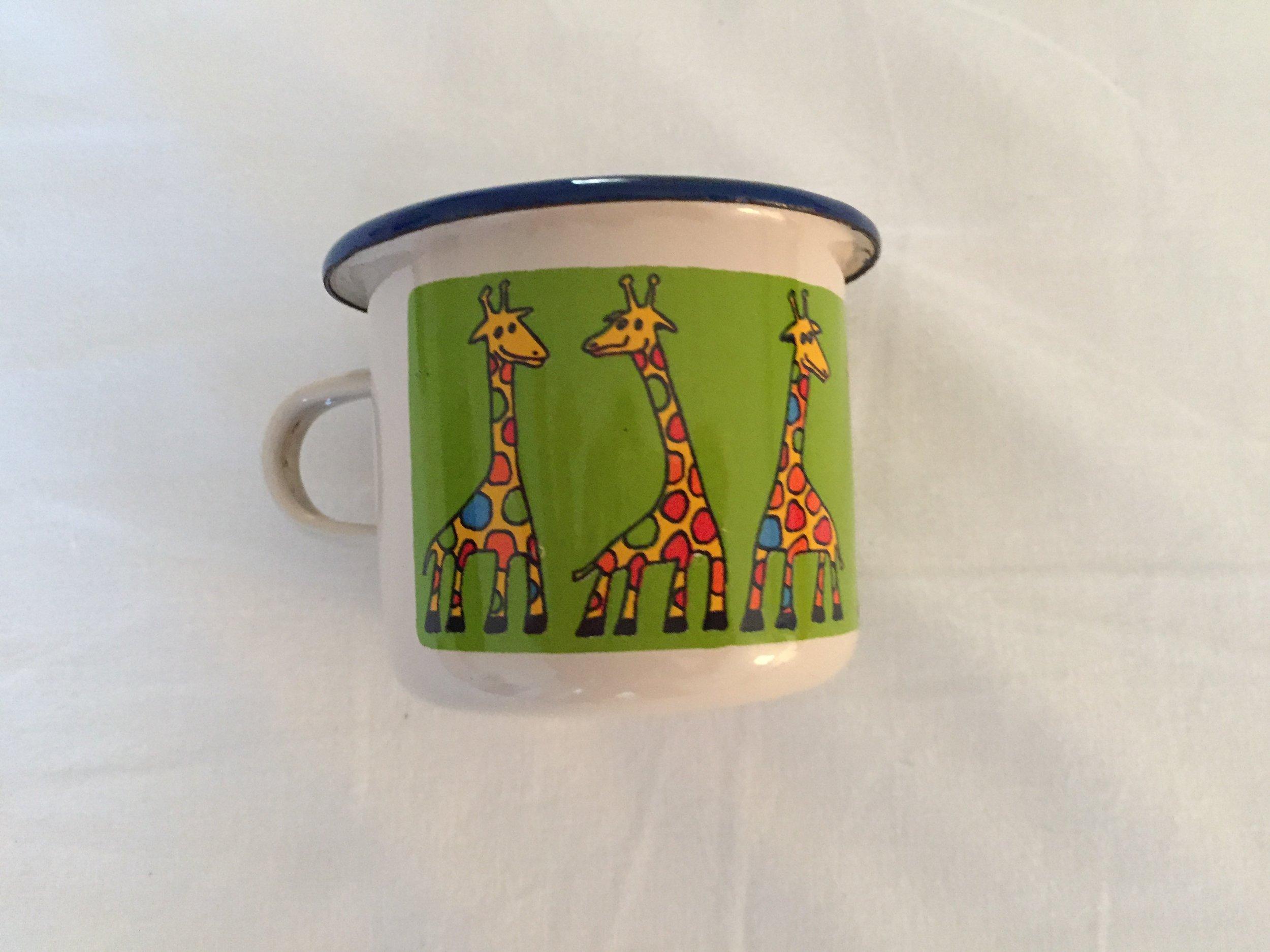 tin cup (Prague, Czech Republic)
