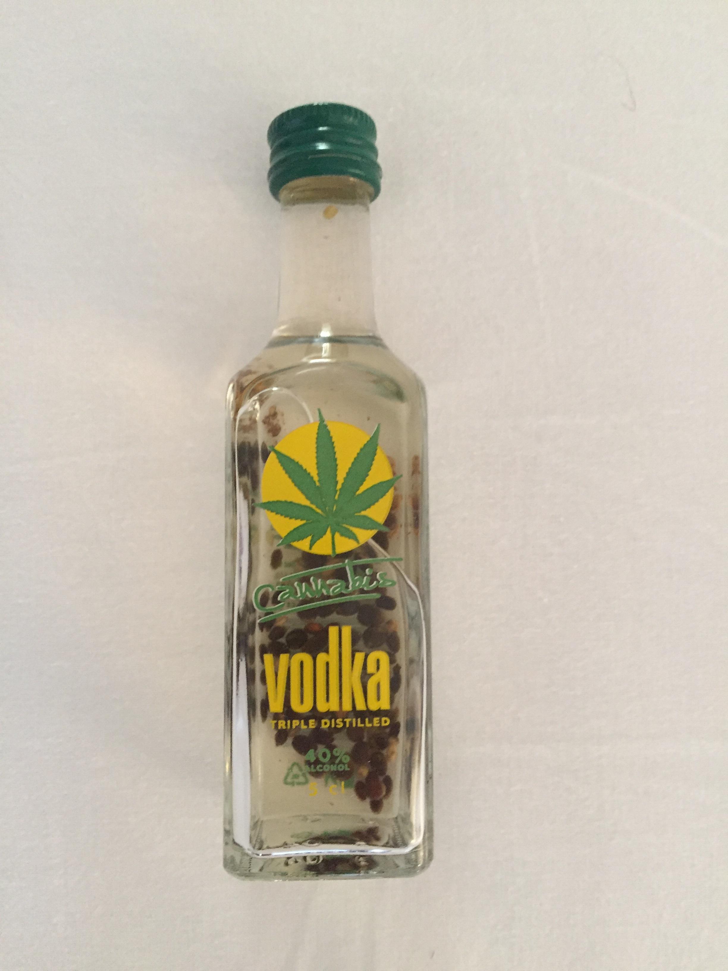 cannabis vodka (Prague, Czech Republic)