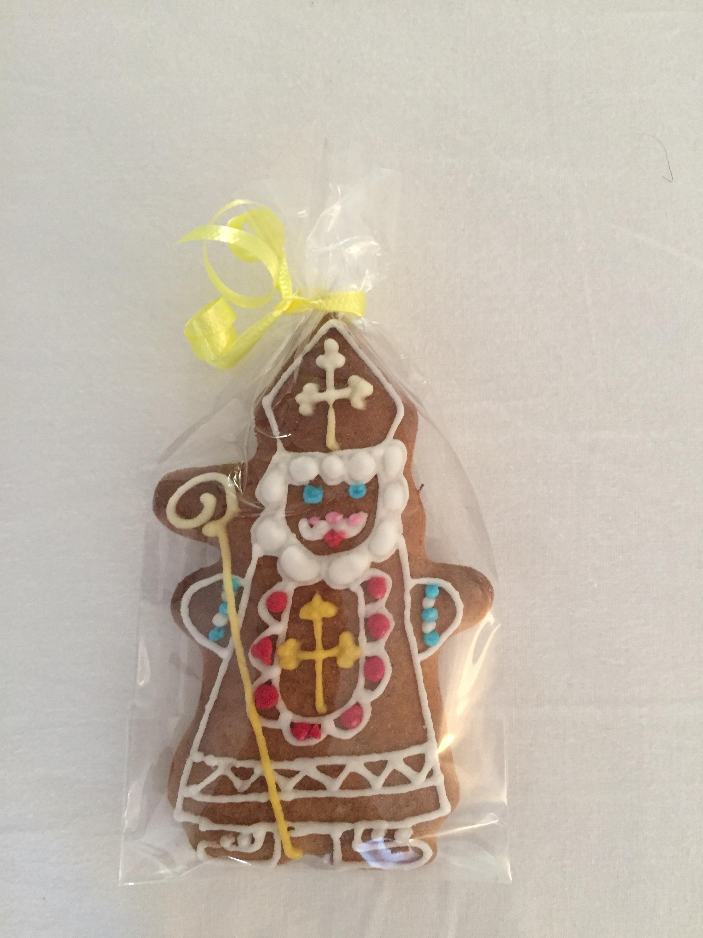 gingerbread bishop (Prague, Czech Republic)