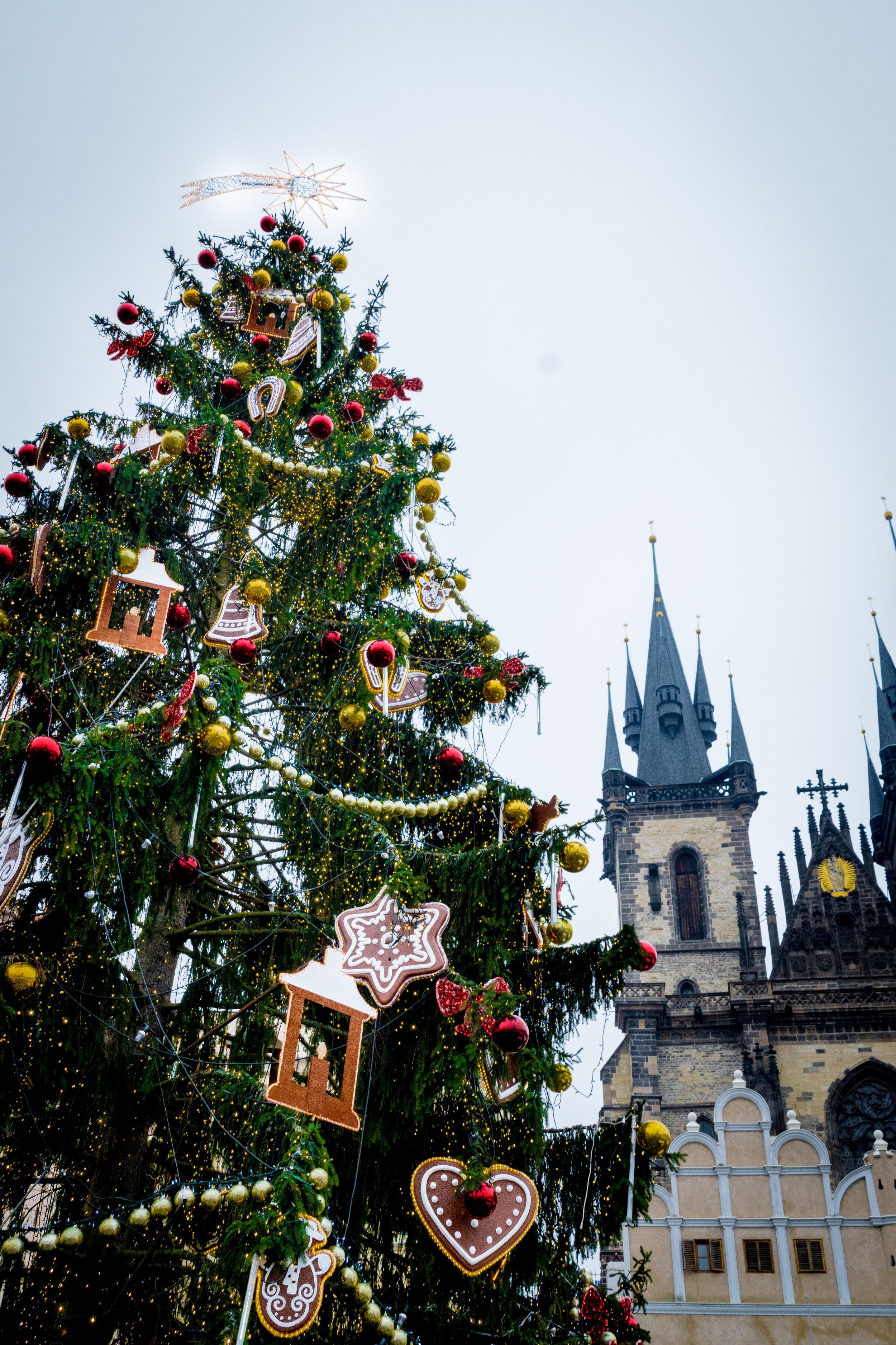 at Old Town Square (Staroměstské náměstí)