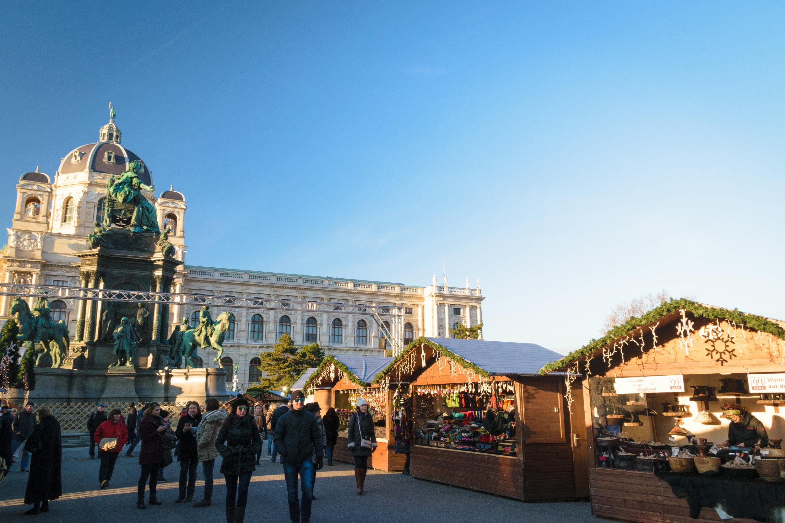 at Maria Theresien Platz