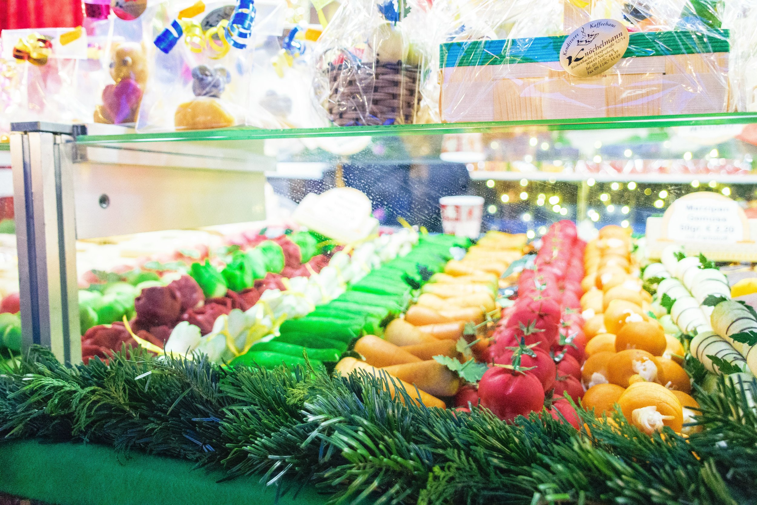 marzipan fruits & veggies