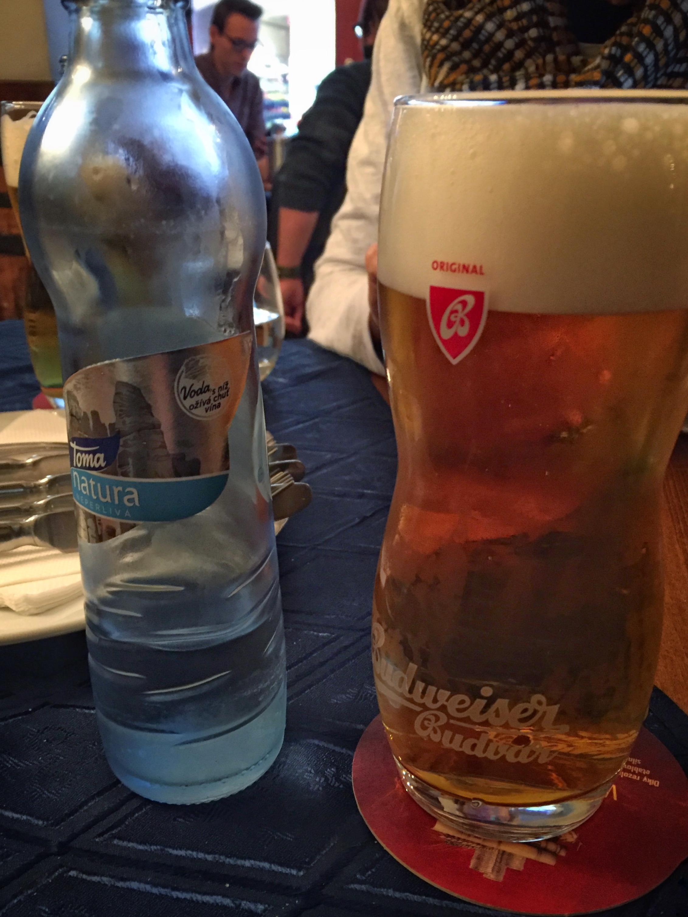 local beer vs. local water