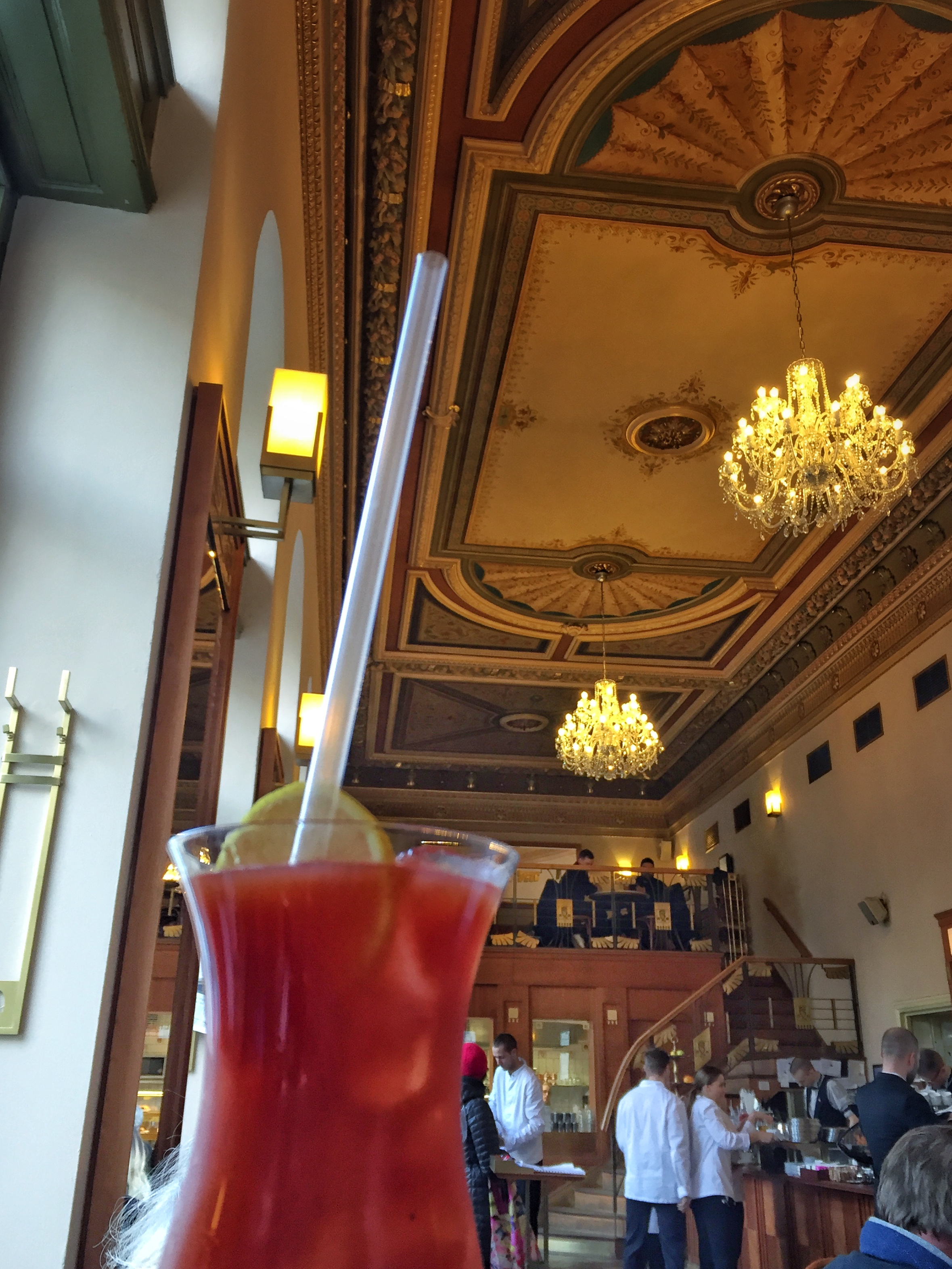 Bloody Mary at Café Savoy