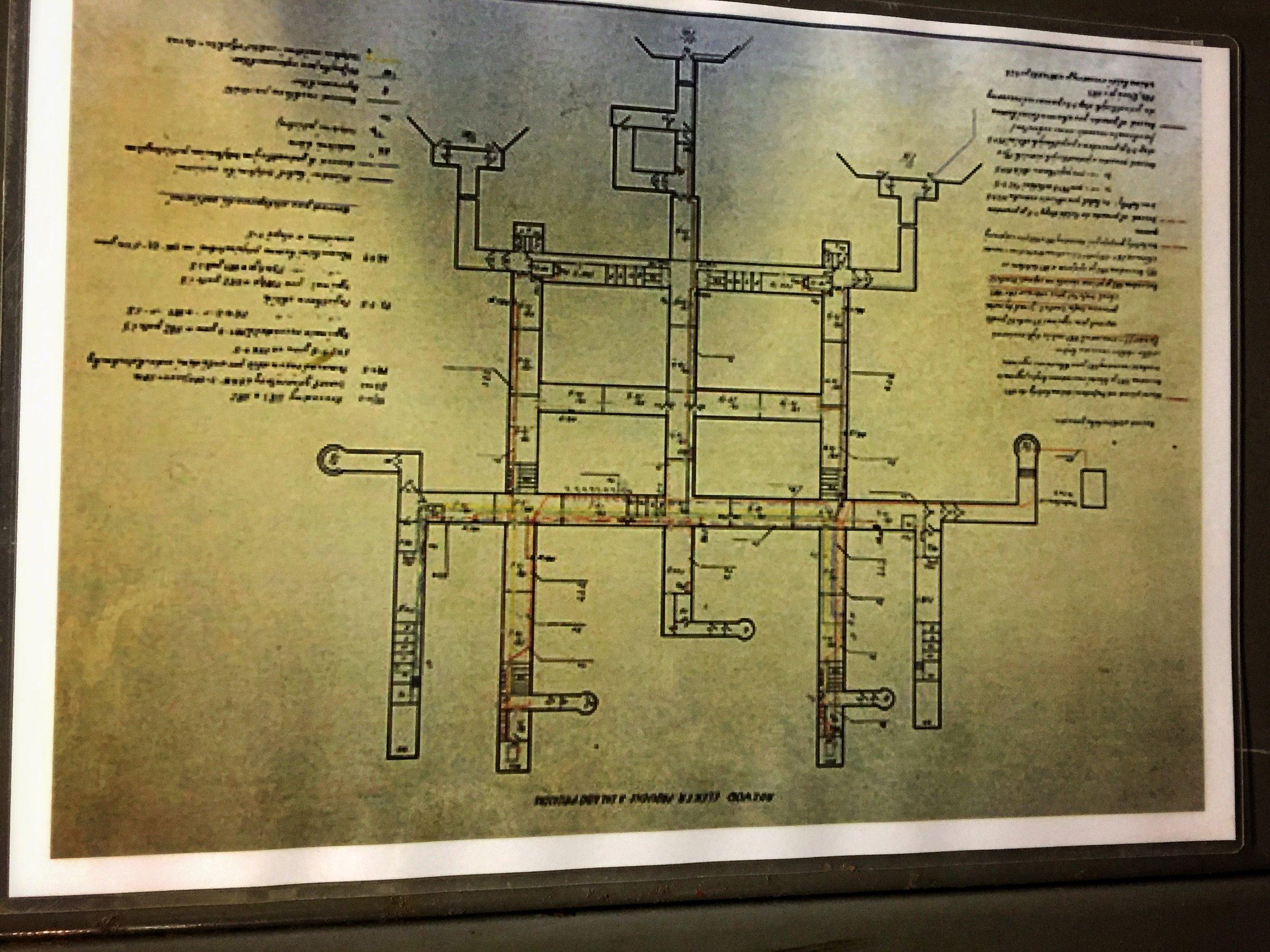 bunker floor plan