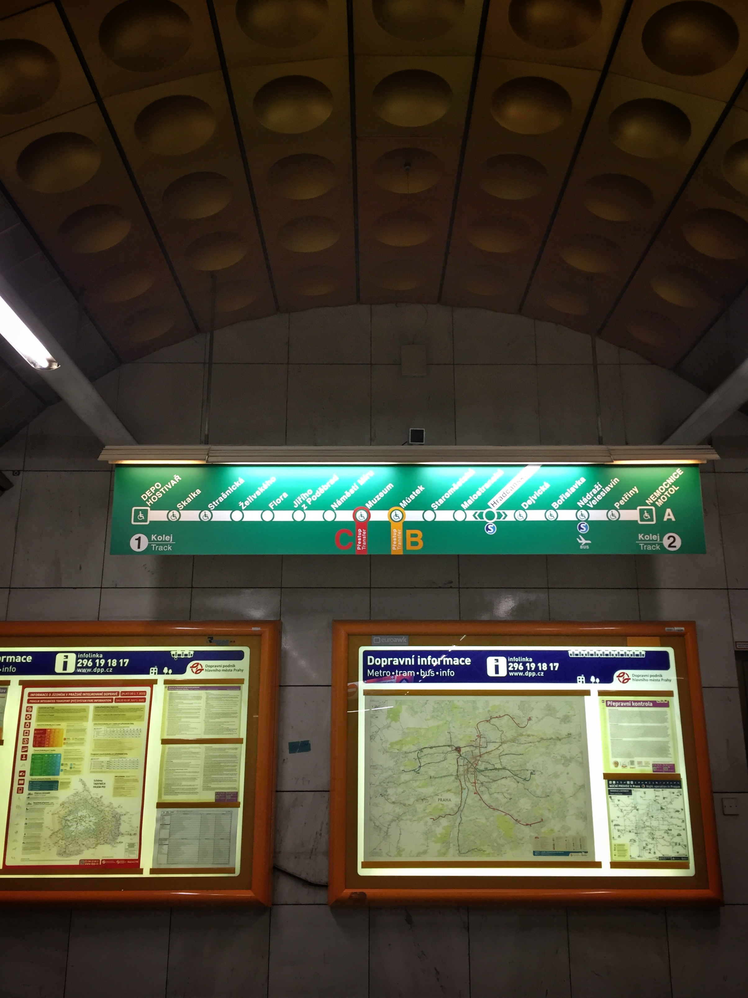 user-friendly station map